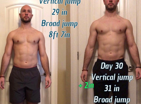 Rugby Nation Athlete Testimonials With Before & Afters