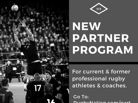 New Rugby Nation Partner Program