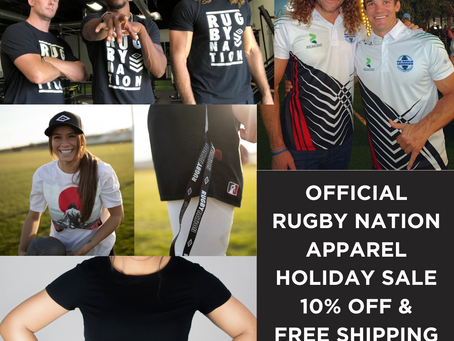 Rugby Nation Apparel For Men & Women Launches Today