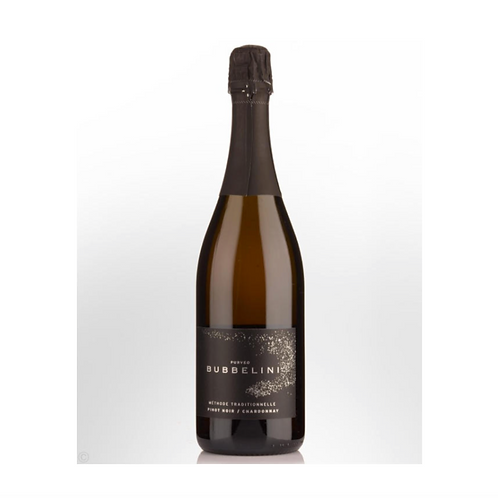 Bubbelini Methode Traditionelle Pinot Noir Chardonnay.