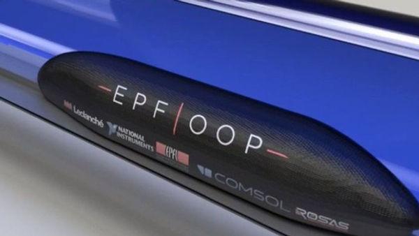 Un des premiers rendus 3D et premières versions design du POD EPFLOOP