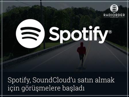 Spotify, SoundCloud'u satın almak için görüşmelere başladı