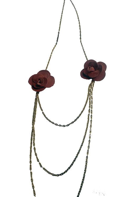 Collar Dos Rosas