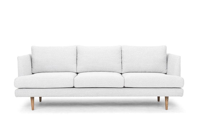 Hans 3 Seater Sofa Light Grey