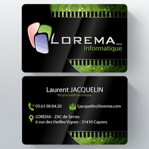 Carte de visite Lorema