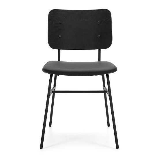 Linea Black Dining Chair