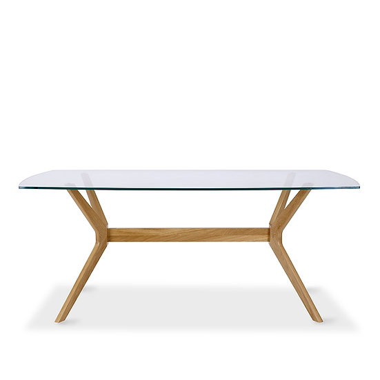 Milano Glass Dining Table