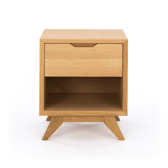 Milano 1 Drawer Bedside