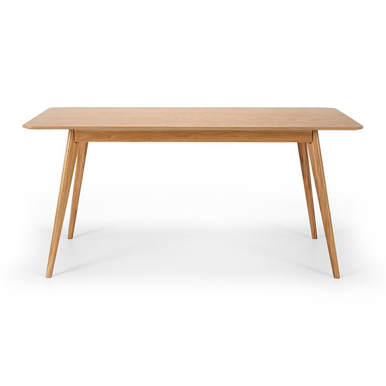 Radius Oak Dining Table
