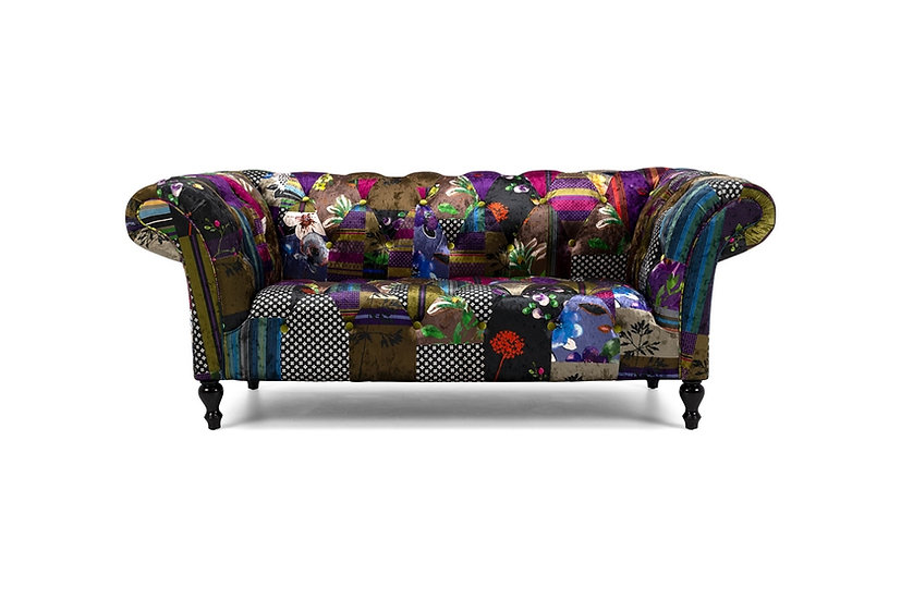 Patchwork 2 Seater Sofa