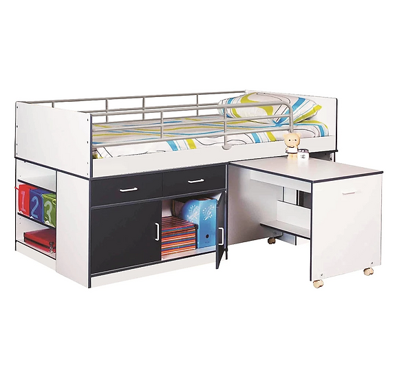 Teen King Single Loft Bed