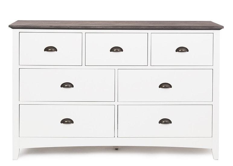 Provence 7 Drawer Dresser