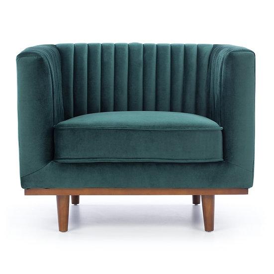 Madison Armchair Dark Green Velvet