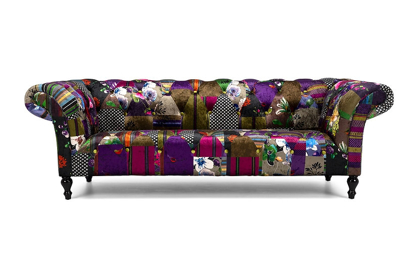 Patchwork 3 Seater Sofa