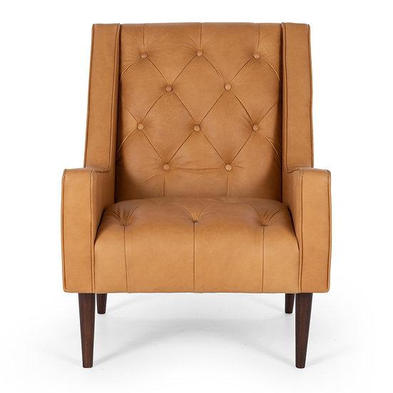 Winston Armchair in Charme Russett