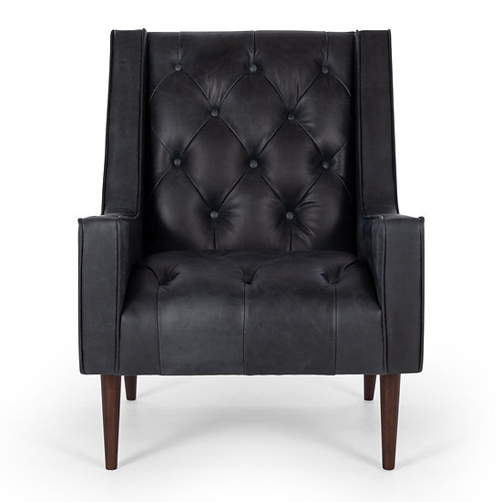 Winston Armchair in Charme Black