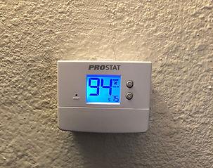 Prostat thermostat