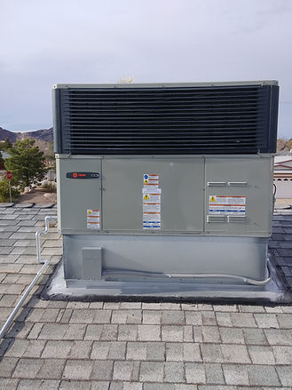rooftop AC unit for large department store