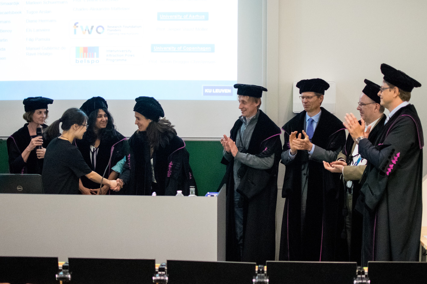 Jialin's PhD defense