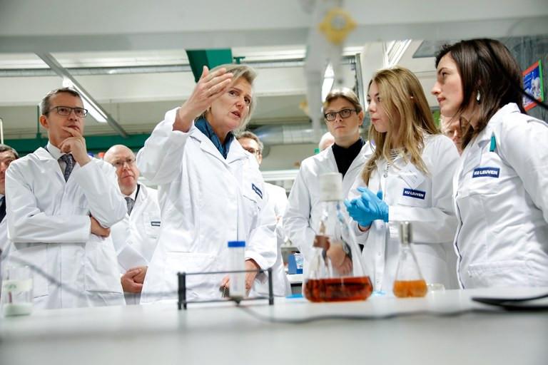 Princess Astrid visits Lab CTS