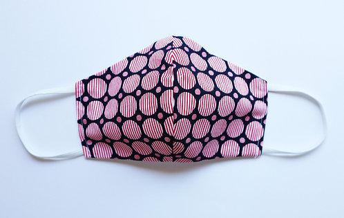 100% Cotton Geometric Circle Mask