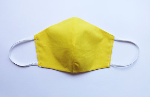 100% Cotton Mellow Yellow Mask