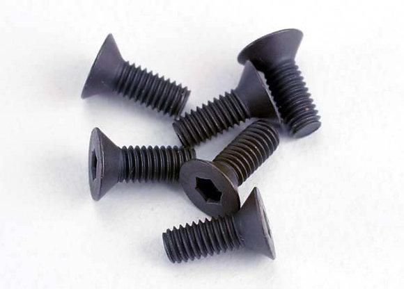 2550 - Screws, 3x8mm countersunk machine (6) (hex drive)