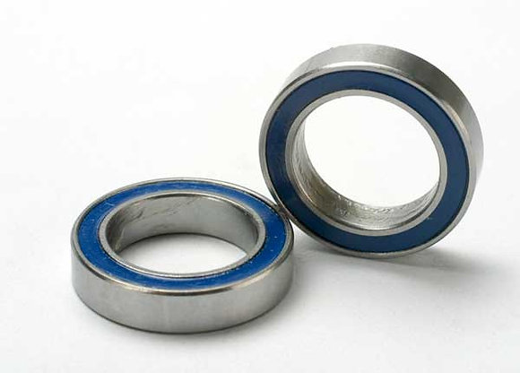 5120 - Ball bearings, blue rubber sealed (12x18x4mm) (2)