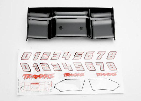 5446 - Wing, Revo® (black)/ decal sheet