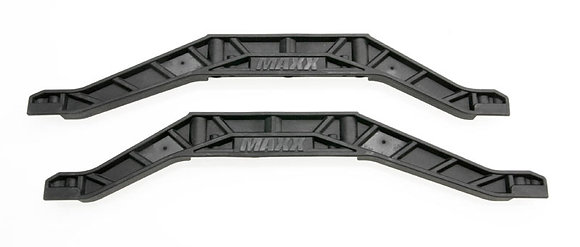 3921 - Chassis braces, lower (black) (2)