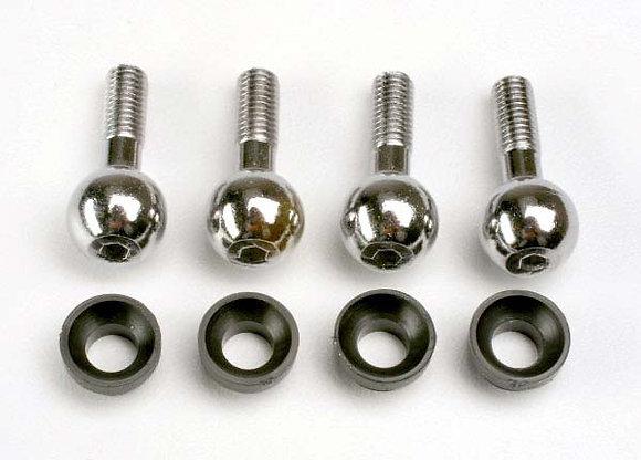 4933 - Pivot balls (4)/ pivot ball cap bushings (4)