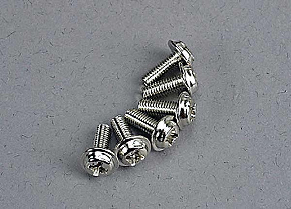 3185 - Motor screws (3x8mm washerhead machine) (6)