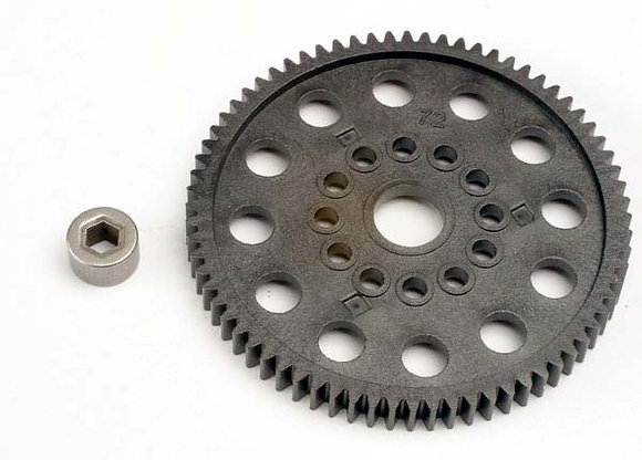 4472 - Spur gear (72-Tooth)