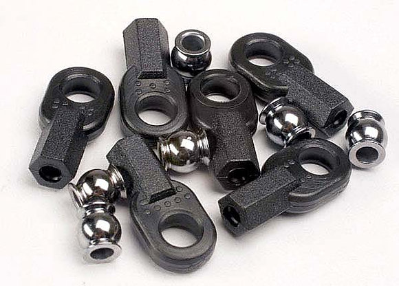 2742 - Rod ends (long) (6)/ hollow ball connectors (6)