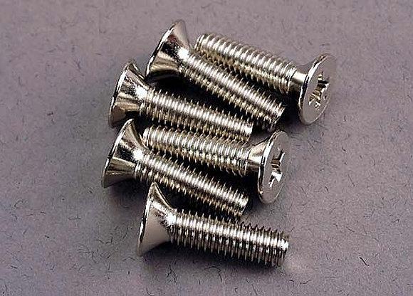 3167 - Screws, 4x15mm countersunk machine (6)
