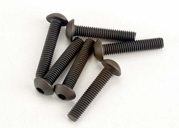 2579 - Screws, 3x15mm button-head machine (hex drive) (6)