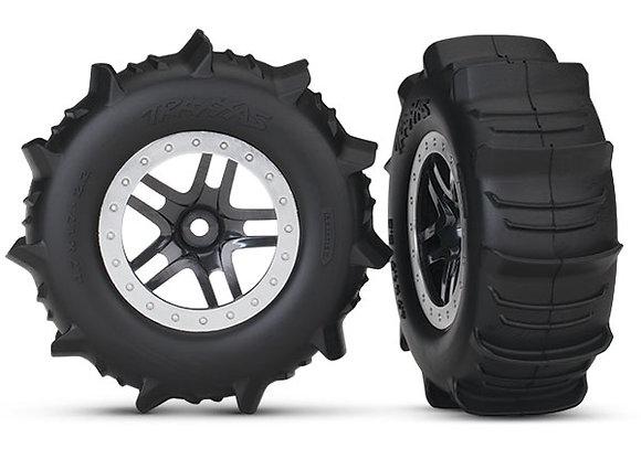 5891 - Tires & wheels, assembled, glued