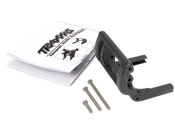 3677 - Wheelie bar mount (1)/ hardware (black)