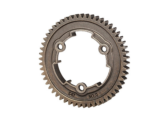 6449X - Spur gear, 54-tooth, steel (1.0 metric pitch)