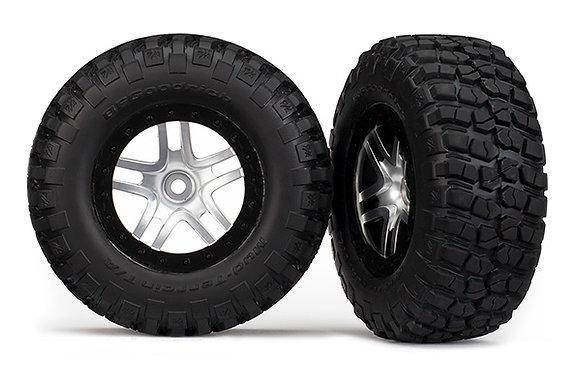 6873X - Tires & wheels, assembled, glued