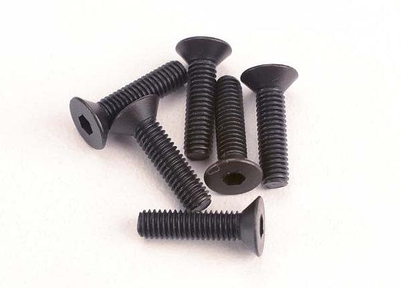 2552 - Screws, 3x12mm countersunk machine (6) (hex drive)