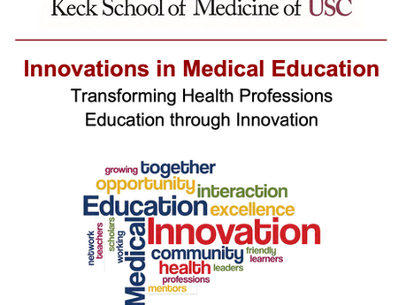HeadToToe Presented at the USC Innovations in Medical Education 2020 Conference