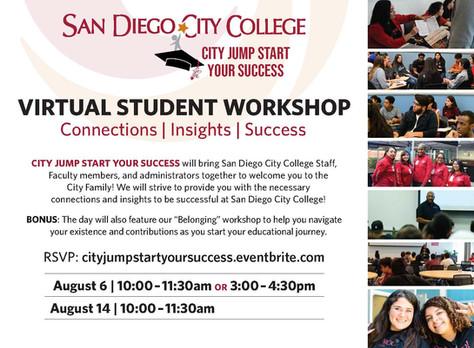 San Diego City College: Jump Start Your Success