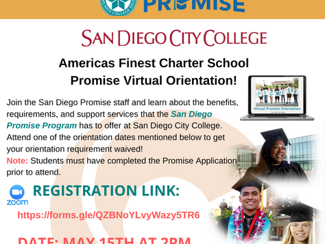 San Diego Community College: Promise Virtual Orientation