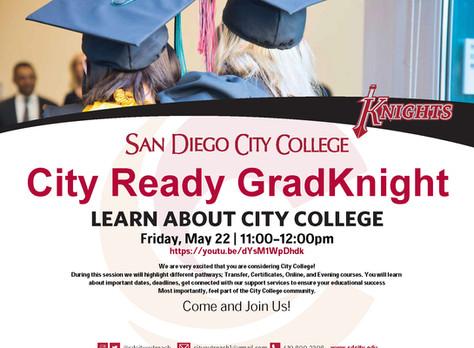 San Diego Community College: City Ready GradKnight