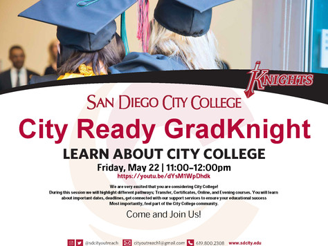 San Diego Community College: City Ready GradKnight