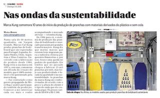 Globo Barra - 10 anos - sustentabilidade