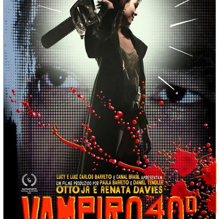 Vampiro 40° - Cartaz