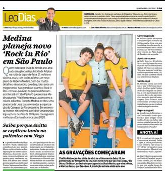 O Dia | Coluna Léo Dias