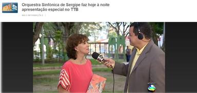 TV Globo - Bom Dia Sergipe
